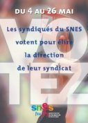 Du 4 au 26 mai, élisez la direction nationale du SNES