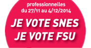 Elections professionelles 2014