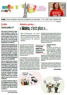Bulletin académique n°312