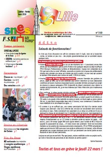 Bulletin académique n°310
